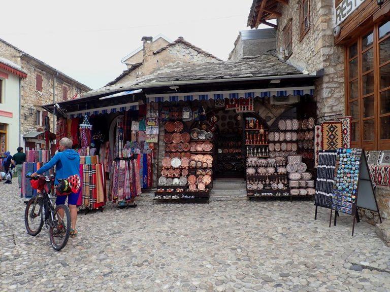 Mostar, bazaar Kujundžiluk