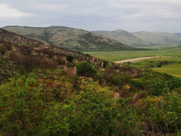 Čiro route, abandoned villages