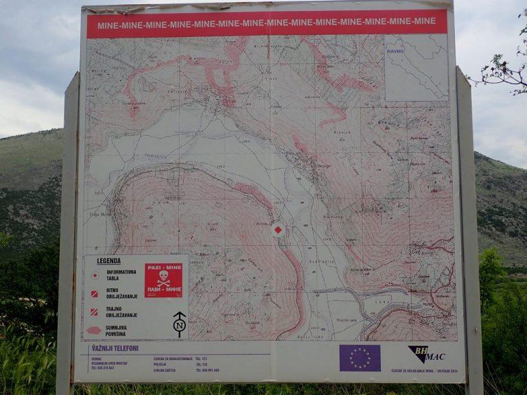 Mine map