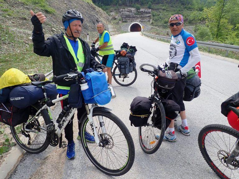Bike friends from Turkey
