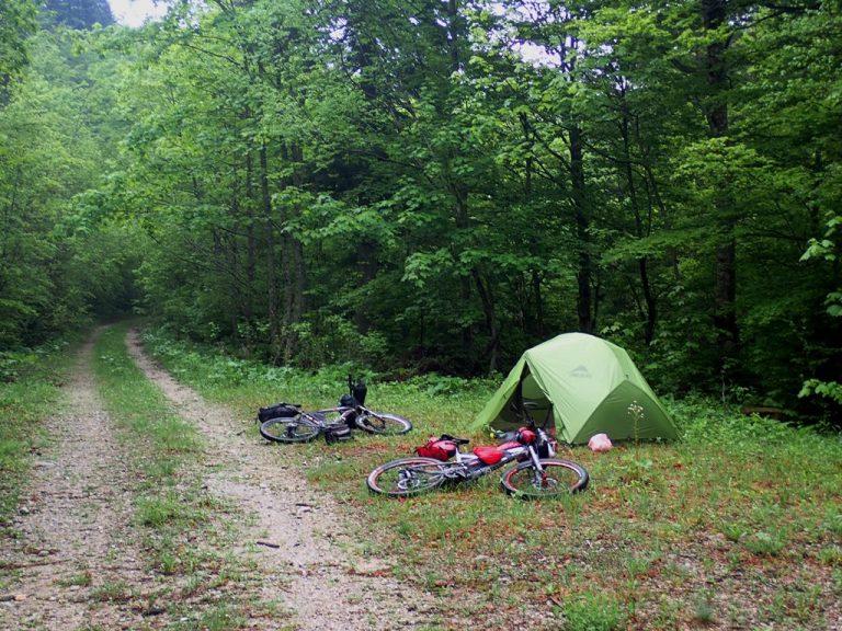 Peručica, emergency camp site