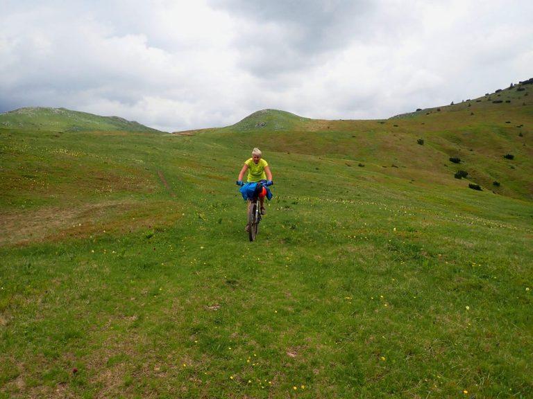 Zelengora mountain, spring colors