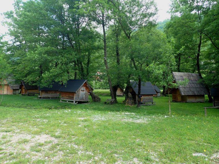 Eko-camp on Boračko lake