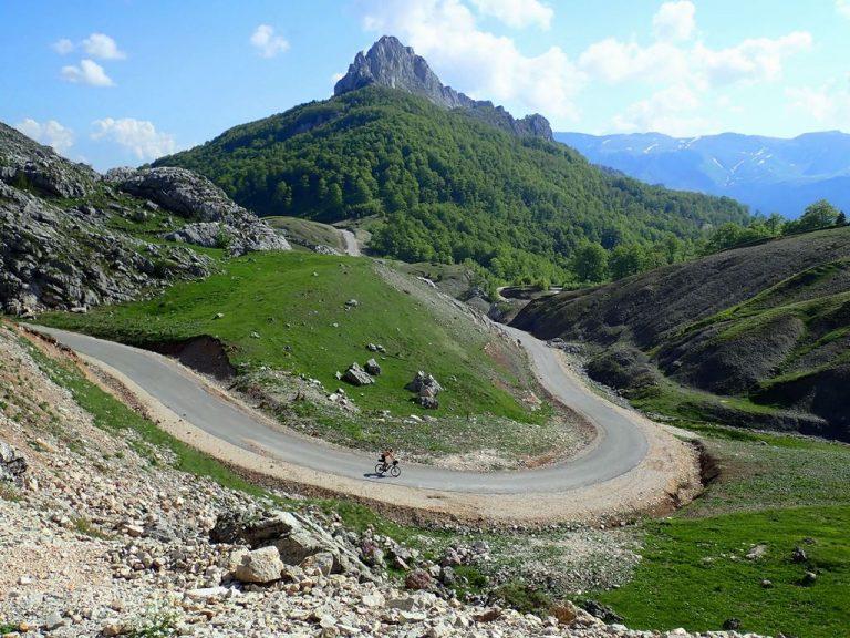 New road form Luka village to Tušila