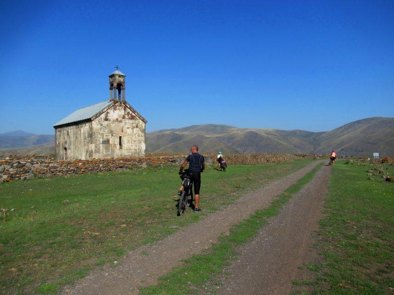 Between the Akhalkalaki city and Mtkvari river canyon.