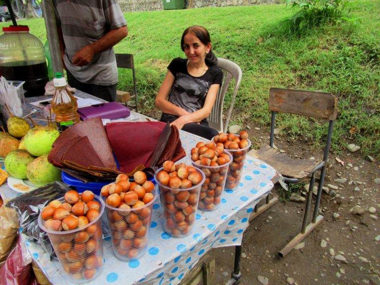 Hazelnuts season.