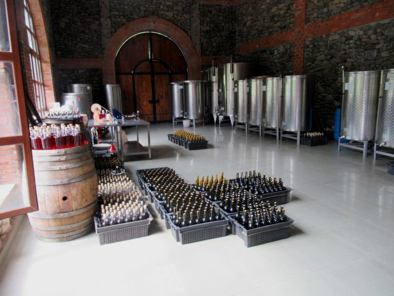 Ajarian Wine House - ancient Georgian tradition of wine making.