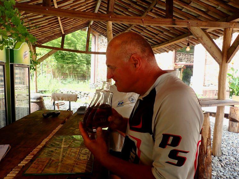 Georgian cognac, for smell do not pay :)