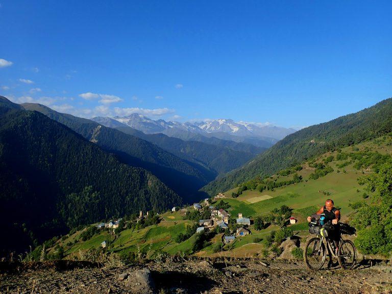 Leli and Svaneti Range.