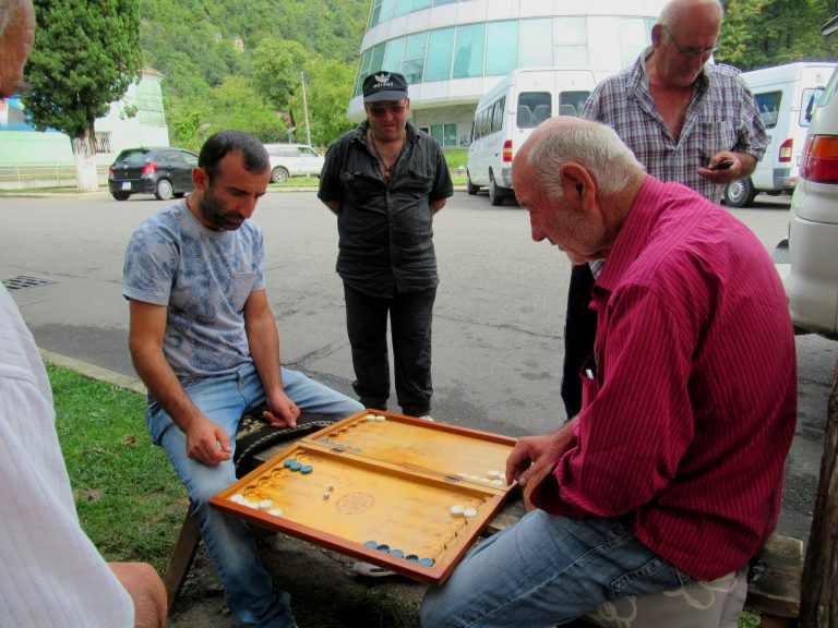 Popular street game.