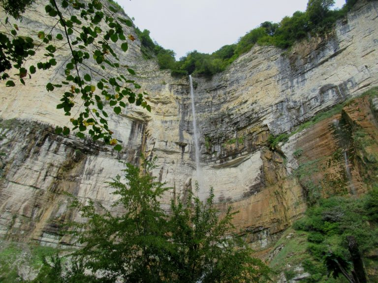 One of the tallest waterfall of Georgia – Kinchkha.