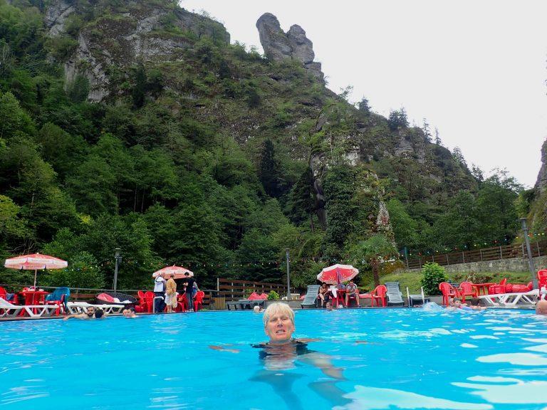 Sairme hot springs.