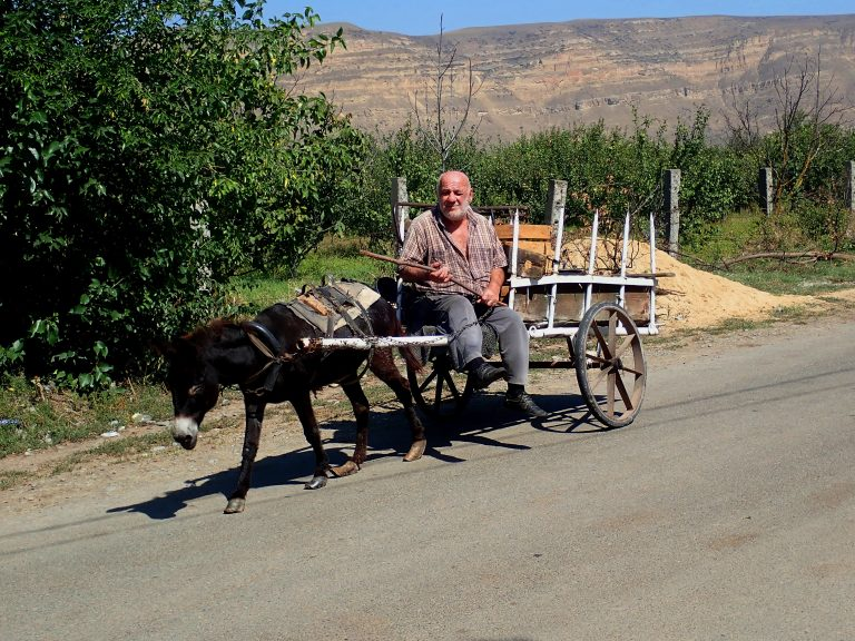 Still little traffic on countryside roads :)