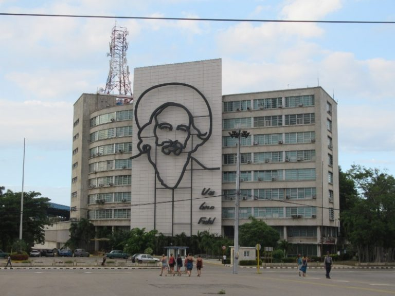 Che Guevara and José Martí, the two immortals and most popular people of the Cuban Revolution.
