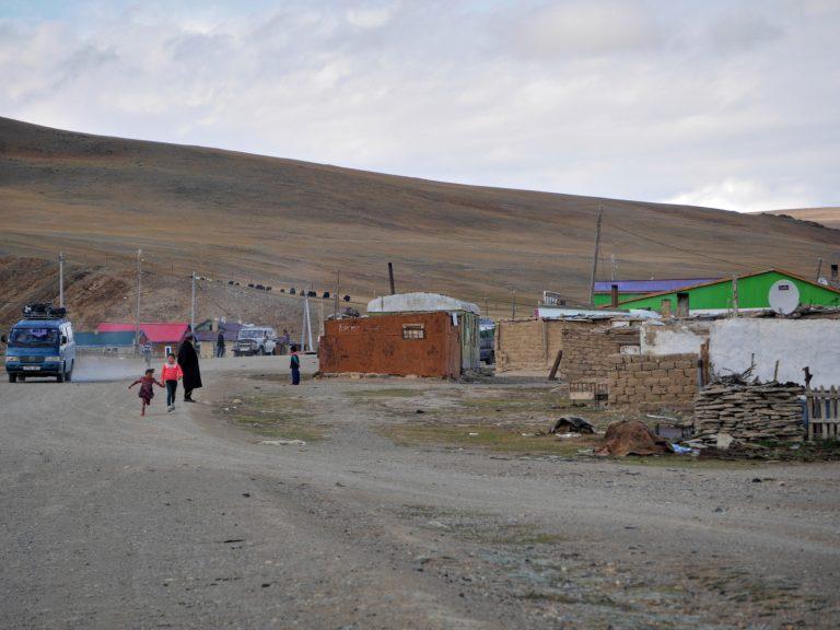 Ulanbaishint, Mongolian border.