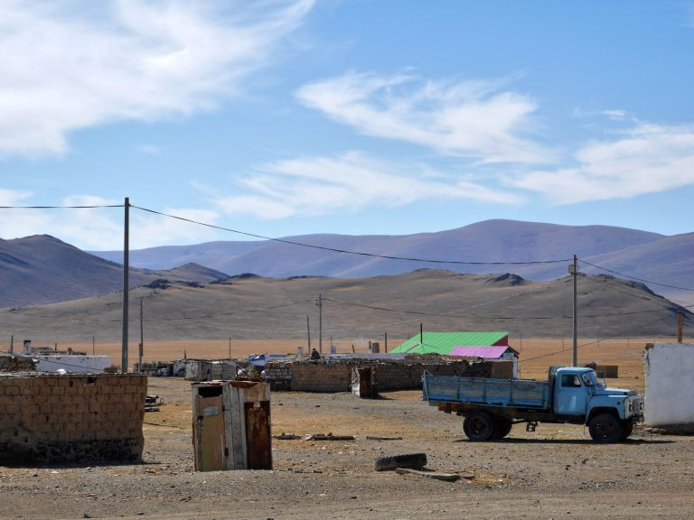 On average, one village per 200 kilometers,