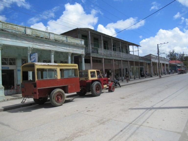 Banes main street (east Cuba).