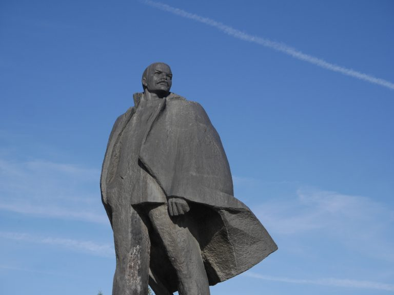 The statue of Lenin is not missing in any Russian city.