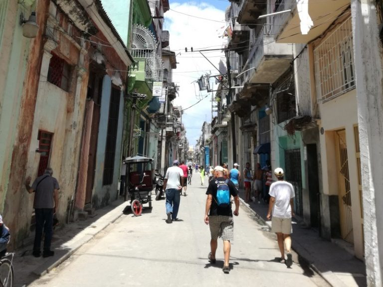 Havana, old city, places where time has stopped.