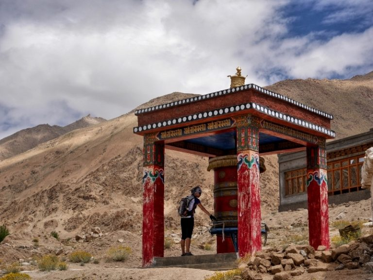 Prayer wheels - devices for spreading spiritual blessings and well being. We hope it works for us too :)
