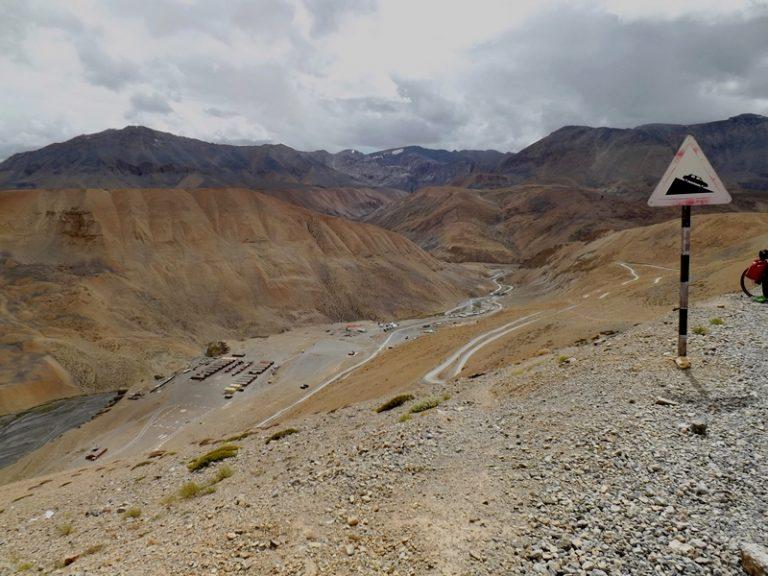 Downhill to Pang.