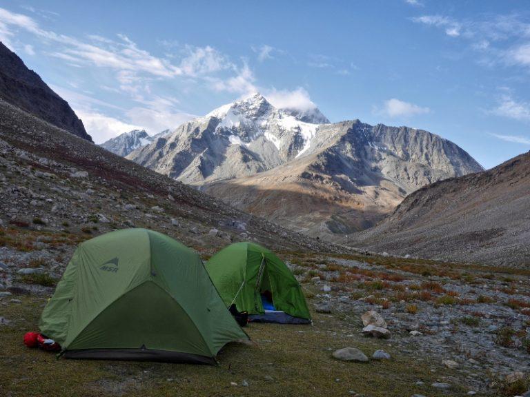 First morning in Zanskar.