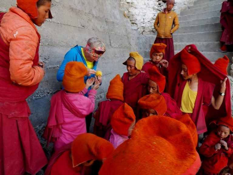 Little monks already after school.