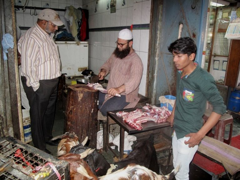 Street meat processing