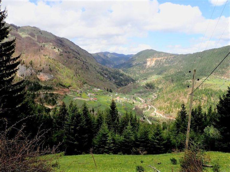 Kuqishte village, Kosovo.