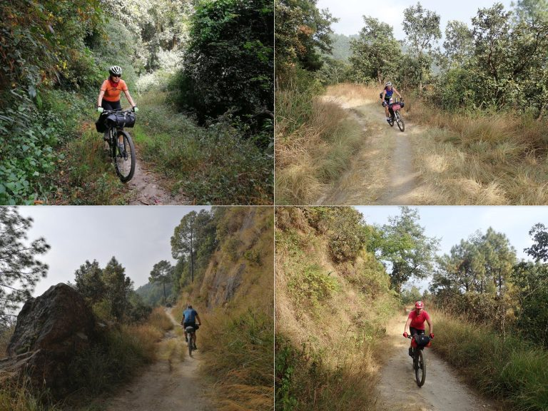 Shivapuri National Park - MTB paradise in Himalayan subtropical forests few kilometers after Kathmandu in the altitude of 2000 m.