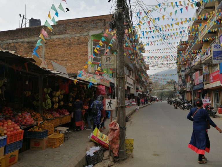 The second day we cross the city Trishuli Bazar - one of the oldest trade point of Nepal.