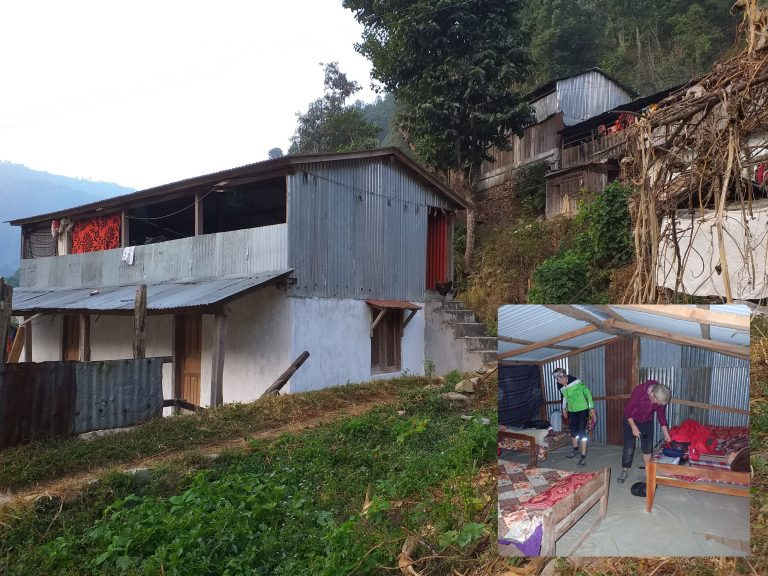 "Local ""Hotel at Harry"" in remote Bharang-Bhurung. Pleasant, friendly and hospitable host (Nepalis Harry) and his  incredible story with Slovak friend Fedor from Galanta :)"