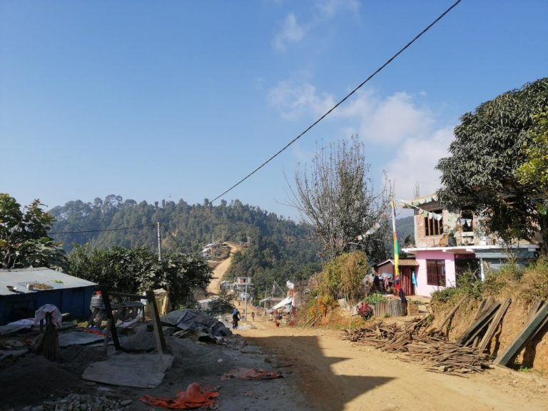 Another nice day in the country's mid-hills on the northern fringe of the Kathmandu Valley close to Gorkha city.