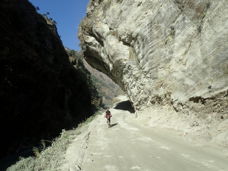 The government have been constructing roads on both the eastern and western side of the circuit over the past decade, joining Pokhara - Muktinath in the West and Besisahar - Manang in the East.