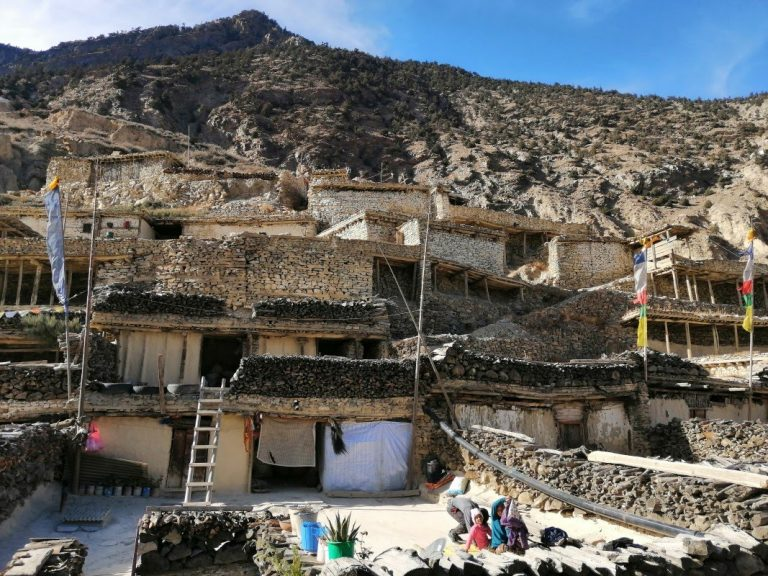 Old Marpha village with Tibetan inhabitants, very good place to stay.