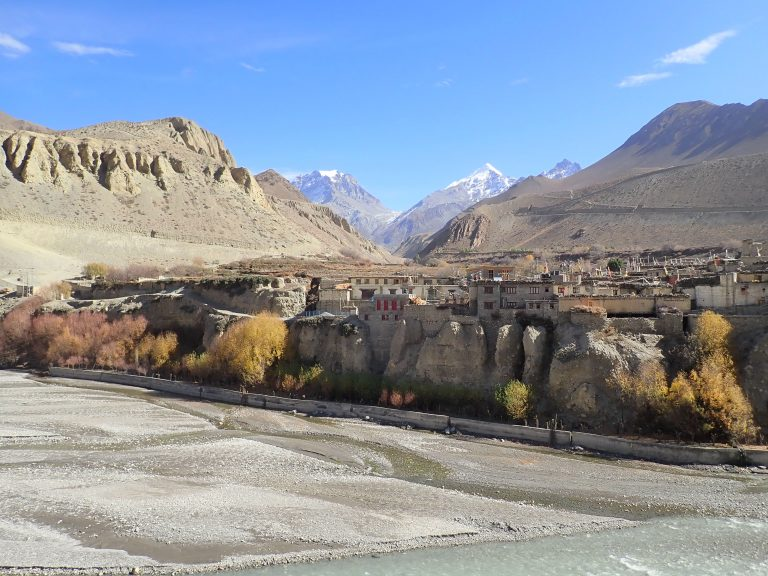 Kagbeni village - a feeling of Mustang.
