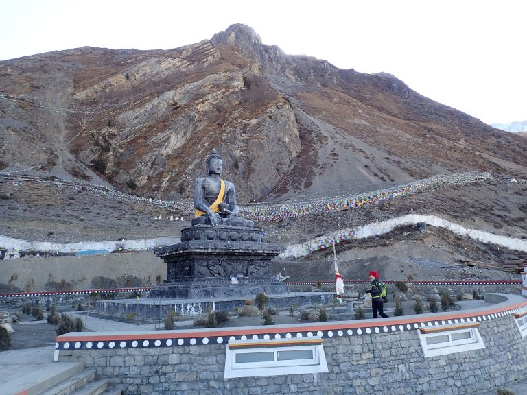 Muktinath Temple - sacred to both Hindus and Buddhists. Legend has it that at the temple, dedicated to the god of salvation, all a person's sins are forgiven.